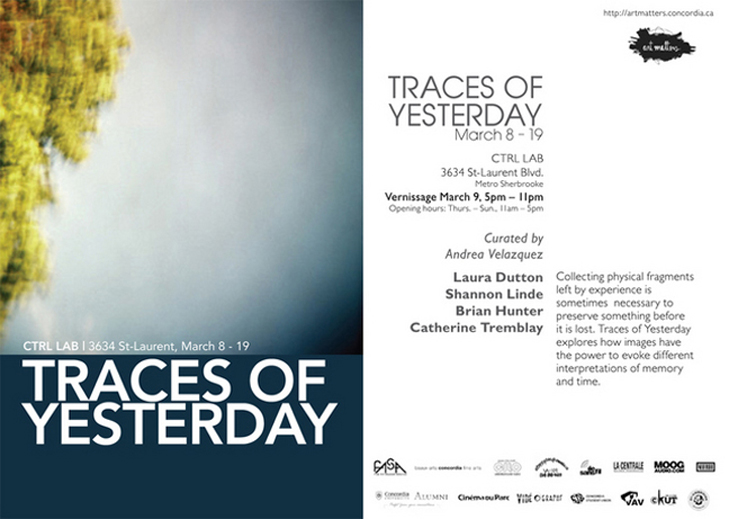Art Matters - Traces of Yesterday